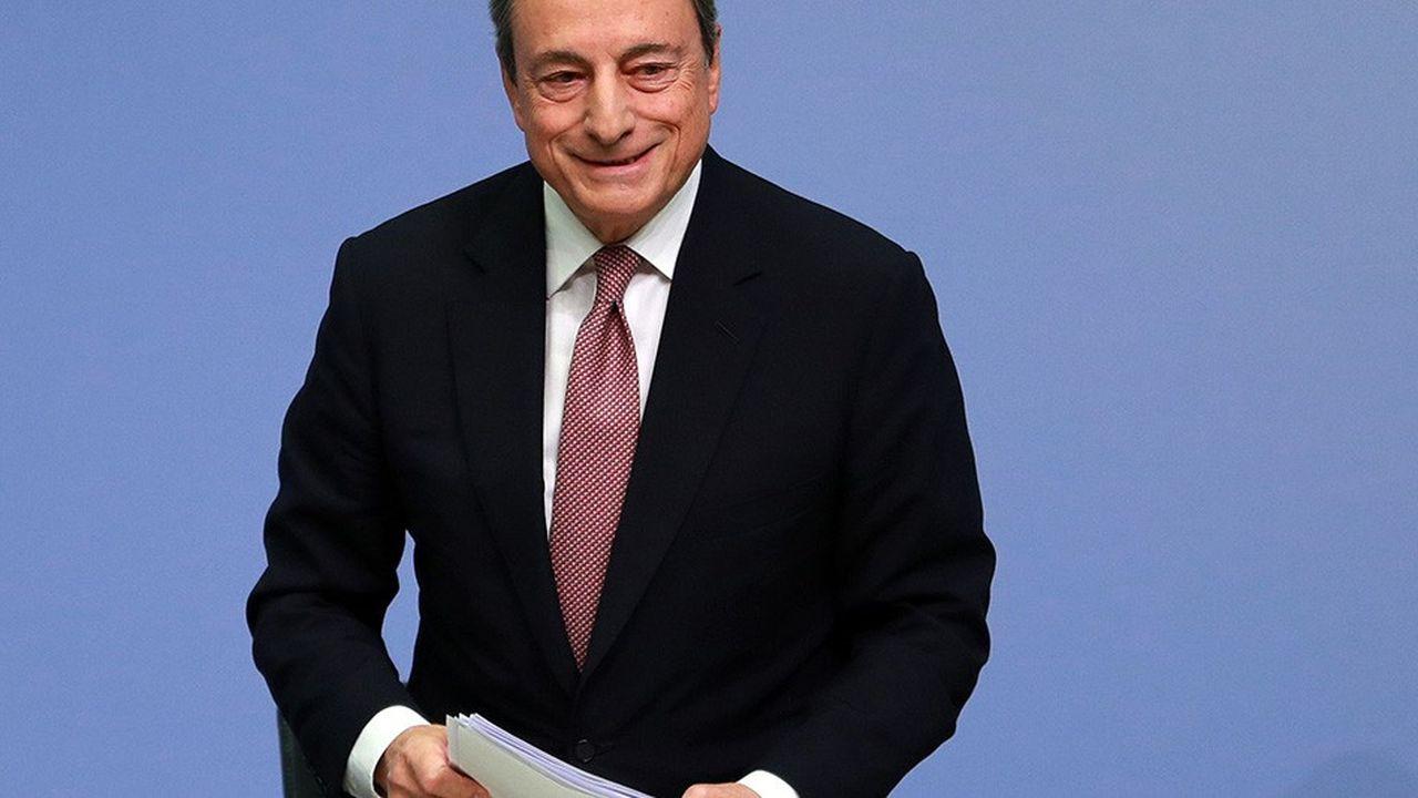 Le président de la Banque centrale européenne, Mario Draghi.