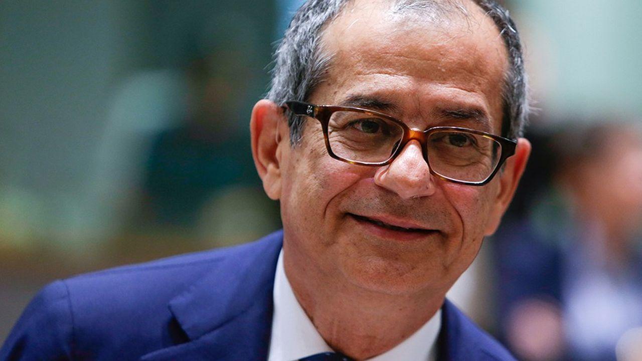 Le ministre des finances italien, Giovanni Tria, devra expliquer son budget ce lundi et mardi à Luxembourg auprès de ses homologues européens à l'Eurogroupe et à l'Ecofin
