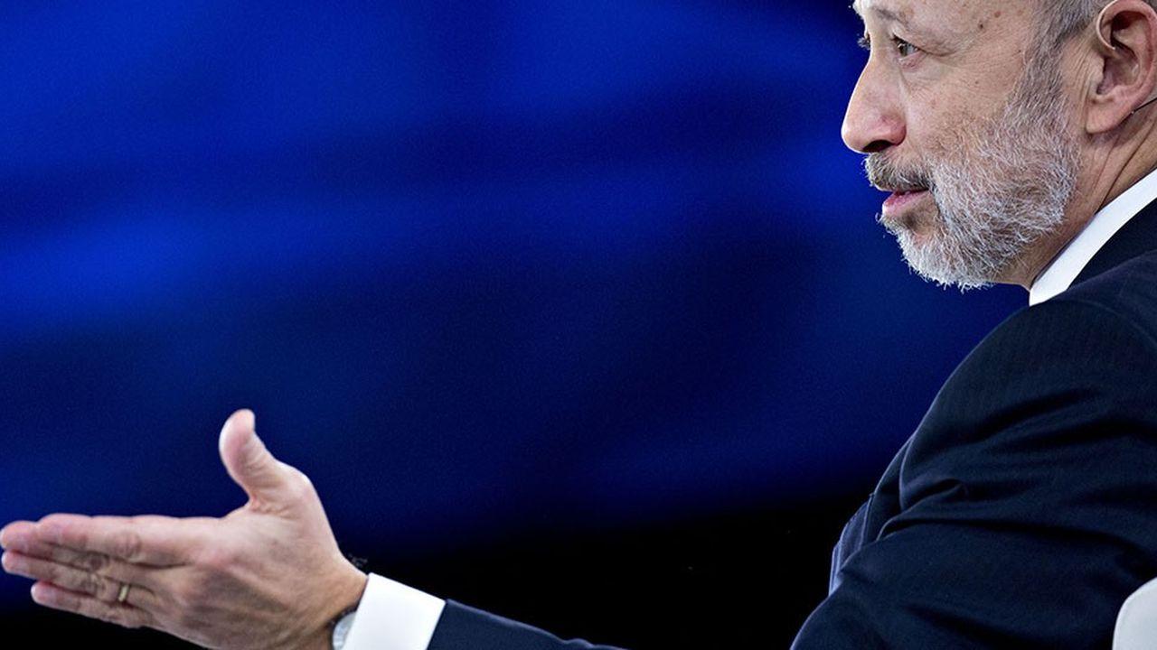 Lloyd Blankfein, chairman et chief executive de Goldman Sachs Group à Washington en février 2018