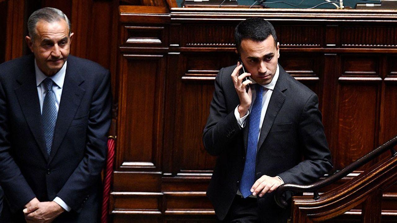 Le leader du M5S, Luigi Di Maio, est officiellement ravi de voir les enchères 5G italiennes battre des records.