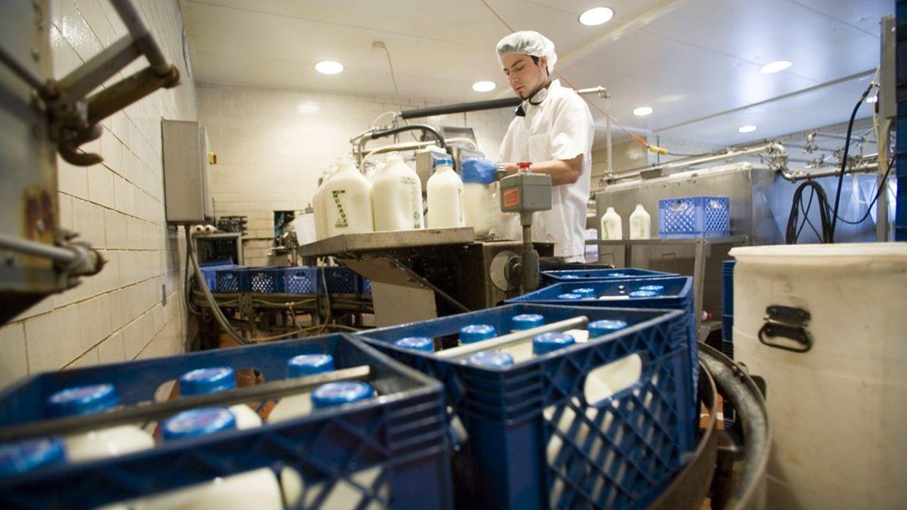 Trump avait fait de l'ouverture du marché canadien aux producteurs de l'industrie laitière américaine une condition non négociable