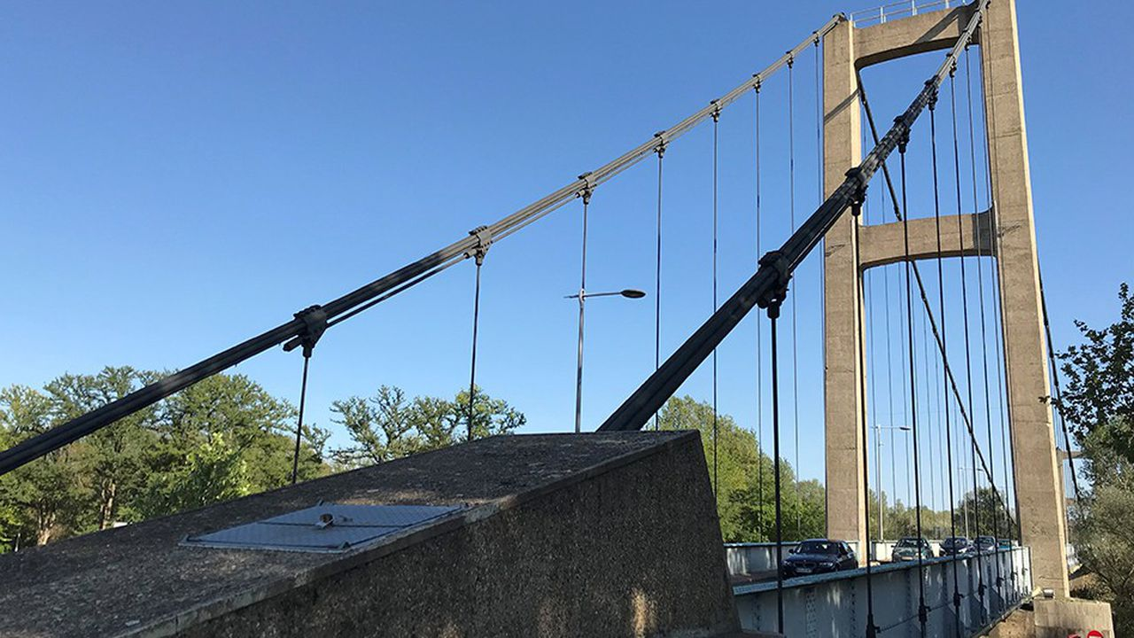 Le pont de Vernaison a été placé sous surveillance renforcée par la métropole de Lyon.