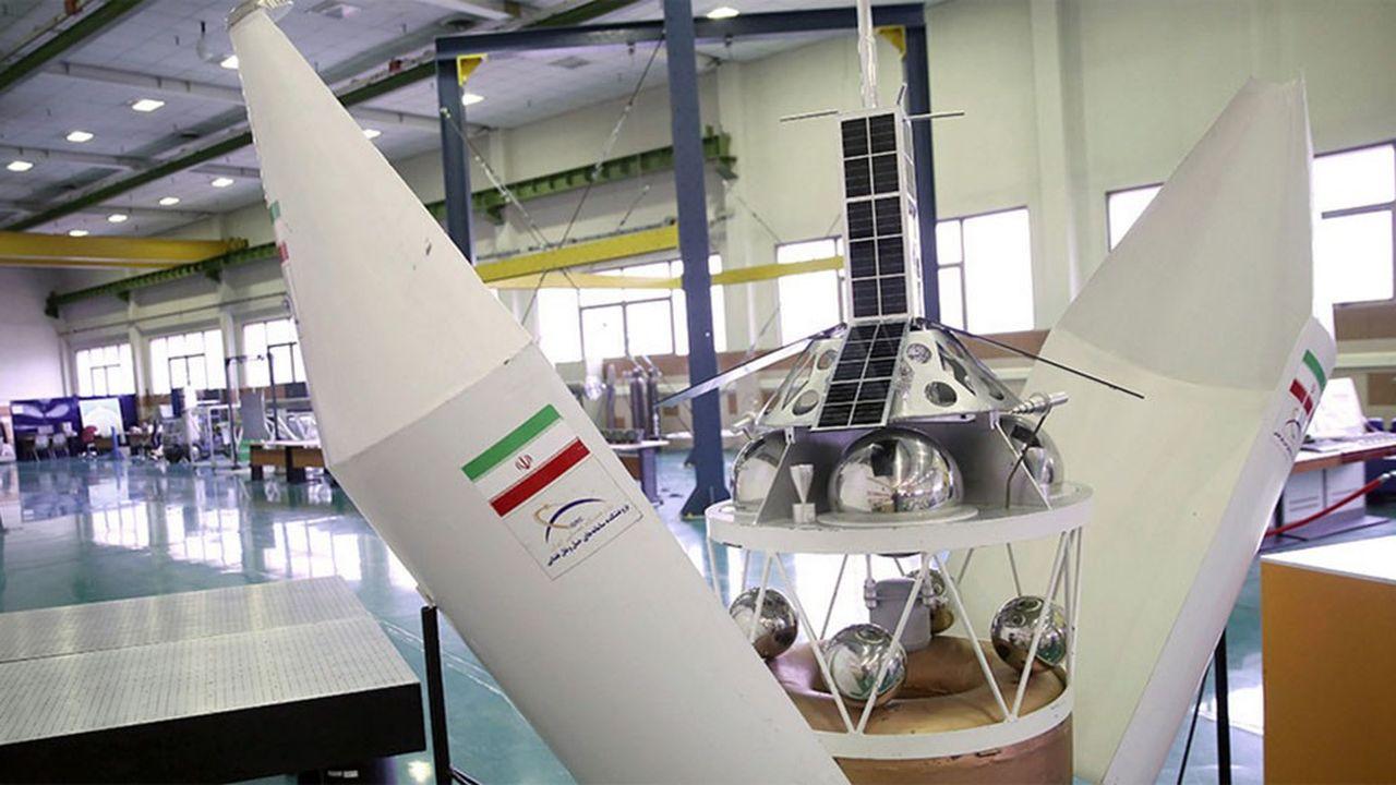 «Nahid 1» est présenté comme le premier satellite de communication conçu et construit entièrement en Iran