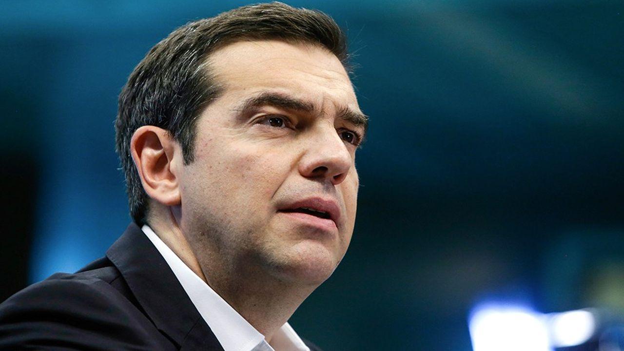 le premier ministre grec, Alexis Tsipras, veut obtenir de ses partenaires qu'ils ne lui imposent pas de nouvelles coupes dans les retraites.