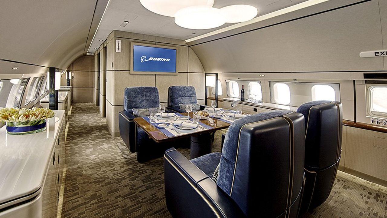 Plus de 100millions de dollars: c'est le montant minimum pour devenir propriétaire d'unBBJ Max7 dérivé du Boeing 737.