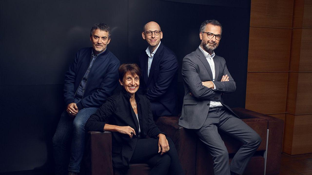 Christophe Coffre et Julien Carette, coprésidents ainsi que Fabrice Conrad, directeur général et Elisabeth Billiemaz, vice-présidente exécutive, composent la nouvelle équipe.