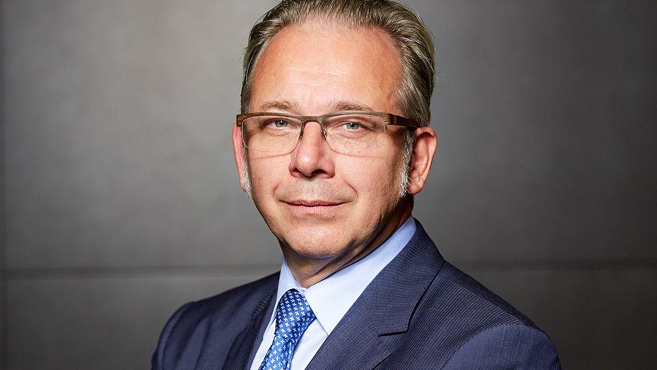 Jean Paul Philippot, administrateur général de la RTBF (Radio télévision belge francophone).