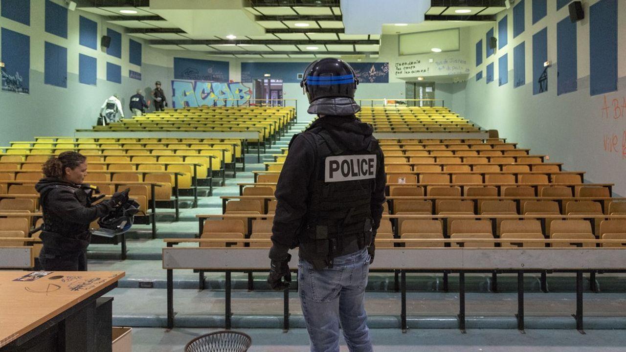 Le 23 avril dernier, la faculté Paul Valéry avait été évacuée par les forces de police.