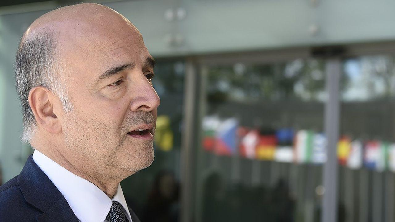 Pierre Moscovici, commissaire européen à l'économie.