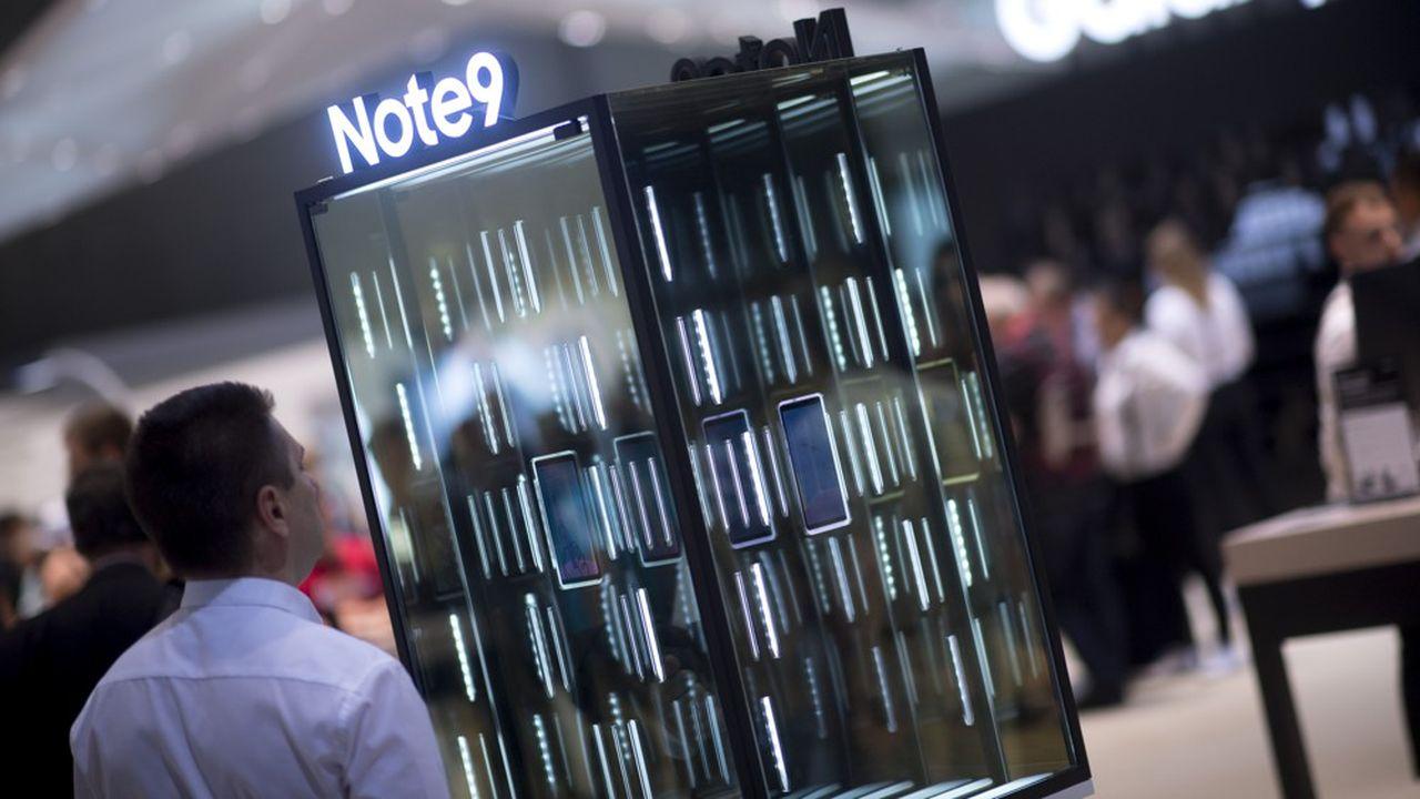 La division smartphones génère désormais moins de 15% des bénéfices du géant de l'électronique.