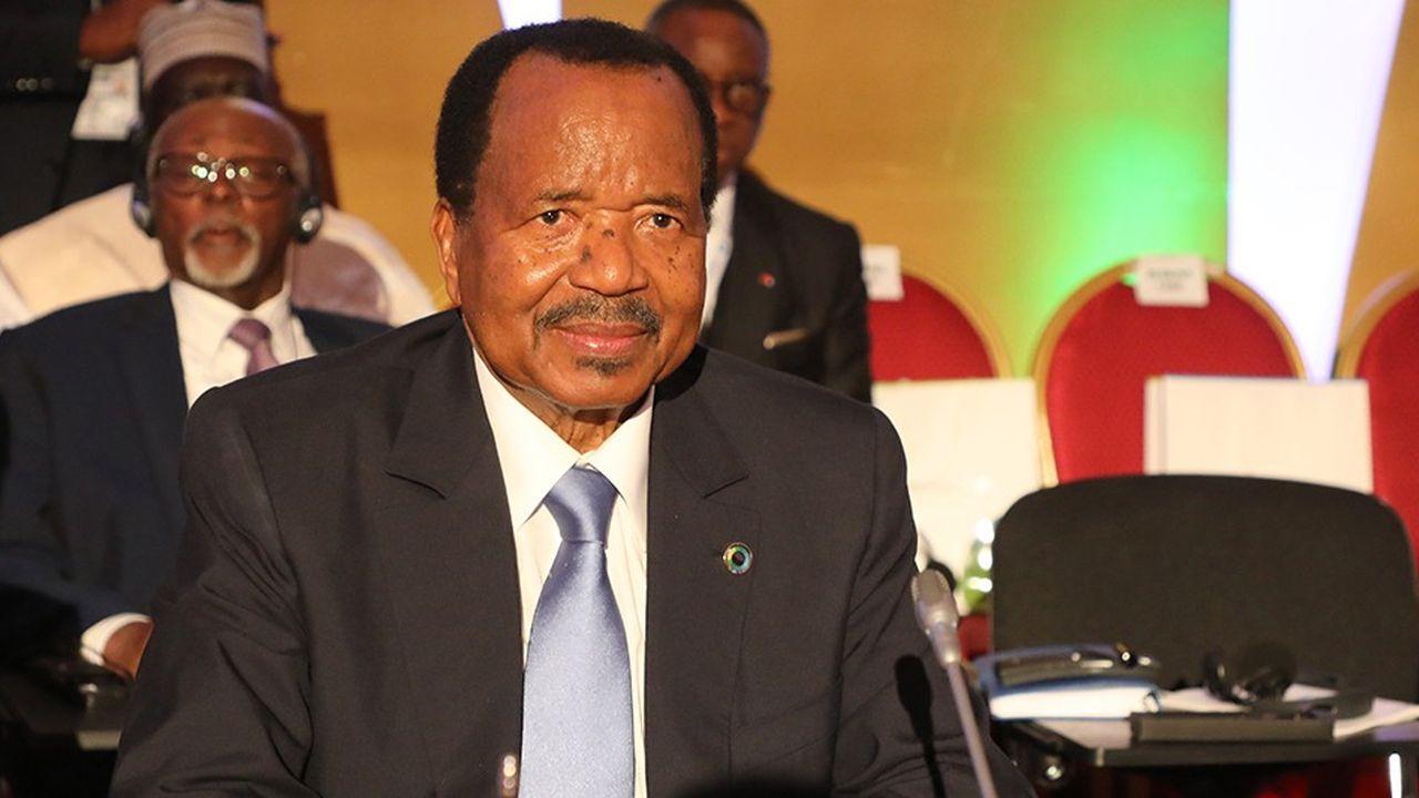 Le président du Cameroun, Paul Biya, est au pouvoir depuis 36 ans.