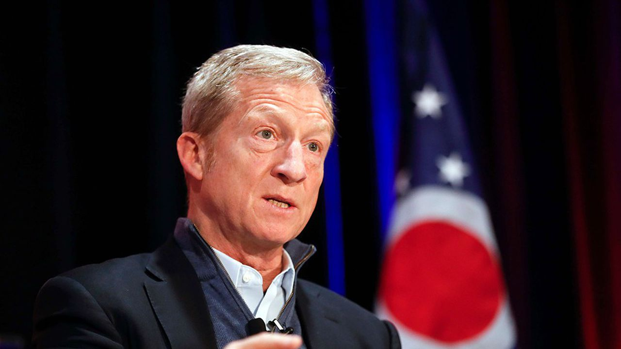 Tom Steyer s'est donné pour but de destituer Donald Trump.