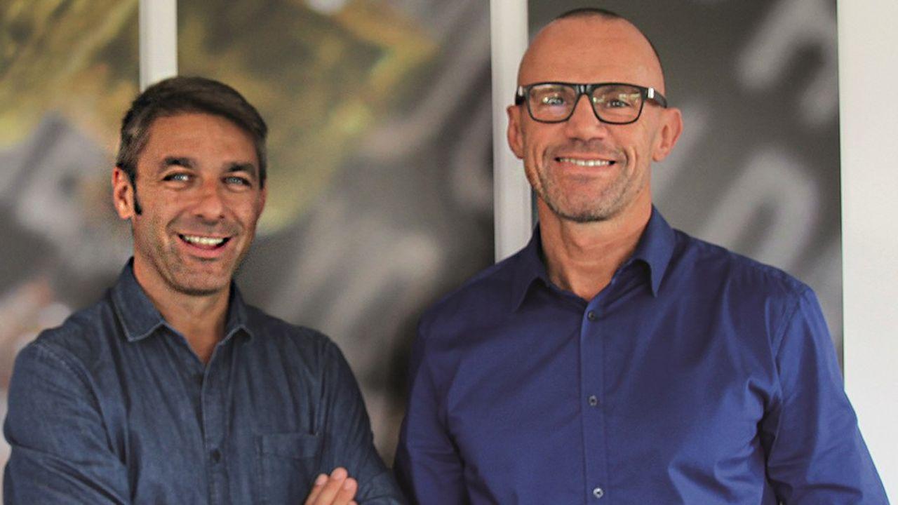 Tugdual Rabreau (à gauche) et Olivier Vallée