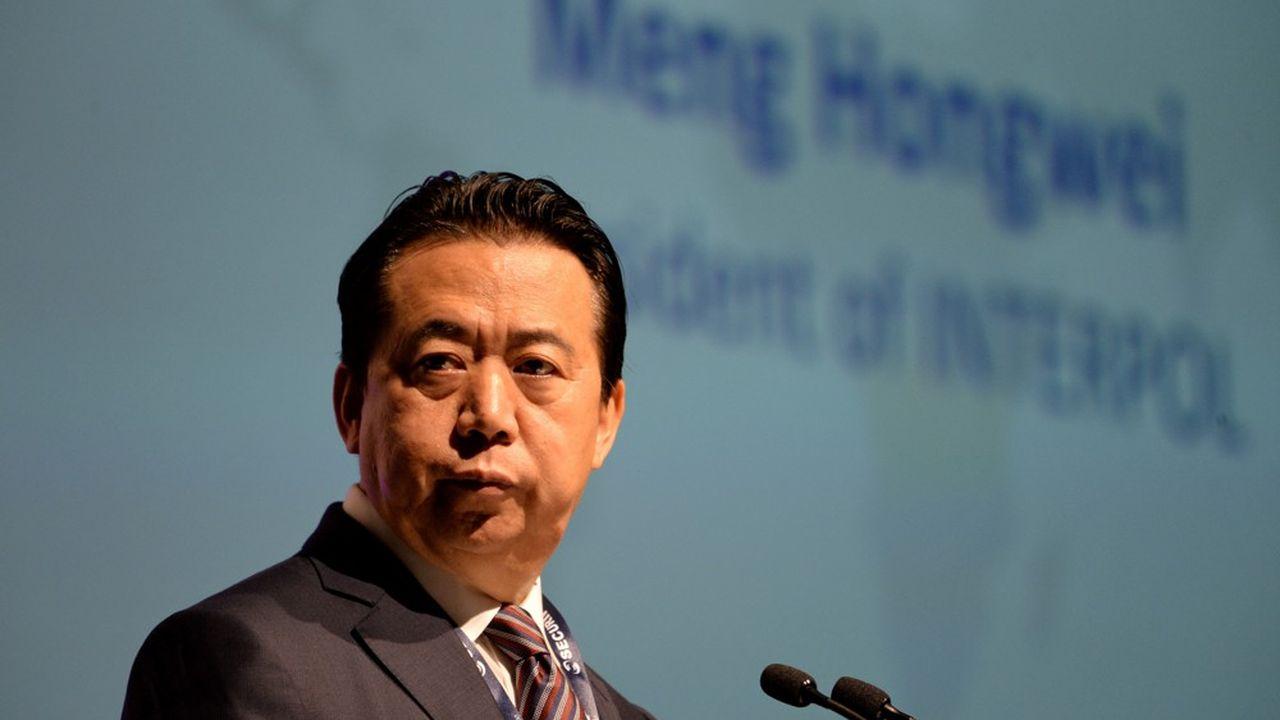 Meng Hongwei, qui a le rang de vice-ministre de la Sécurité publique en Chine, a été élu en novembre2016 pour quatre ans à la tête d'Interpol.