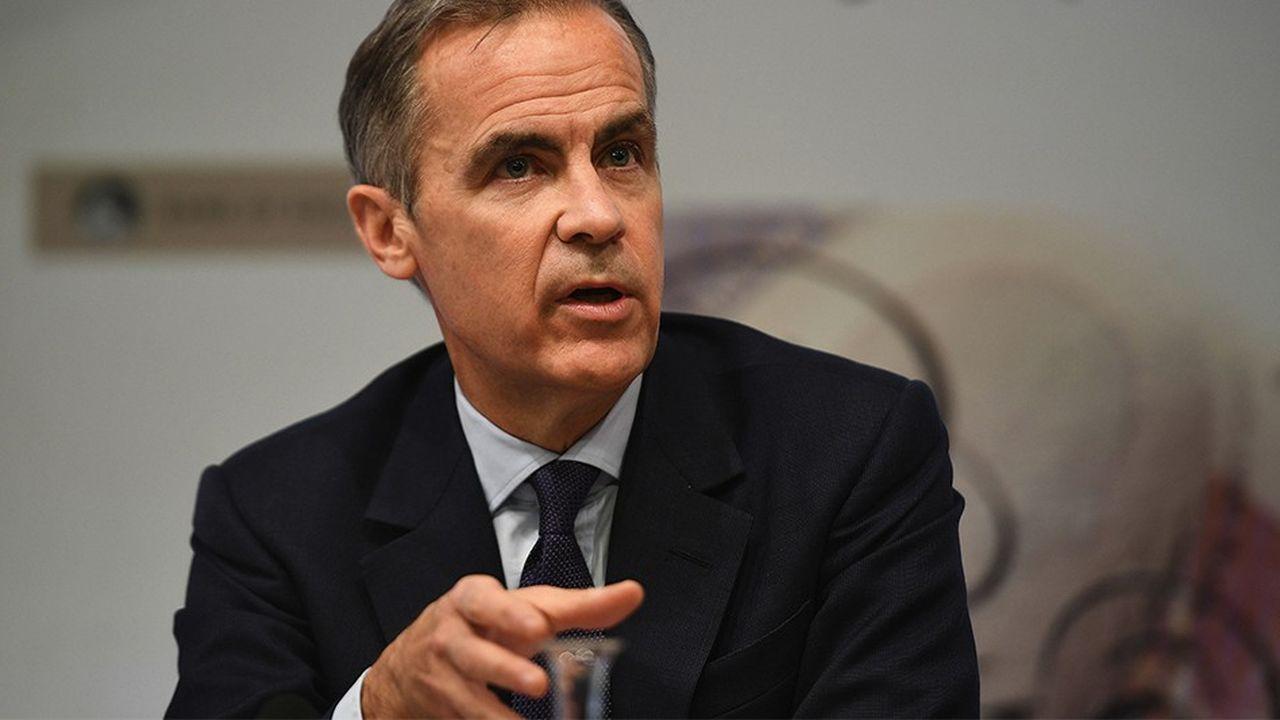 Mark Carney, le gouverneur de la Banque d'Angleterre, reste jusqu'en 2020 pour gérer le Brexit.
