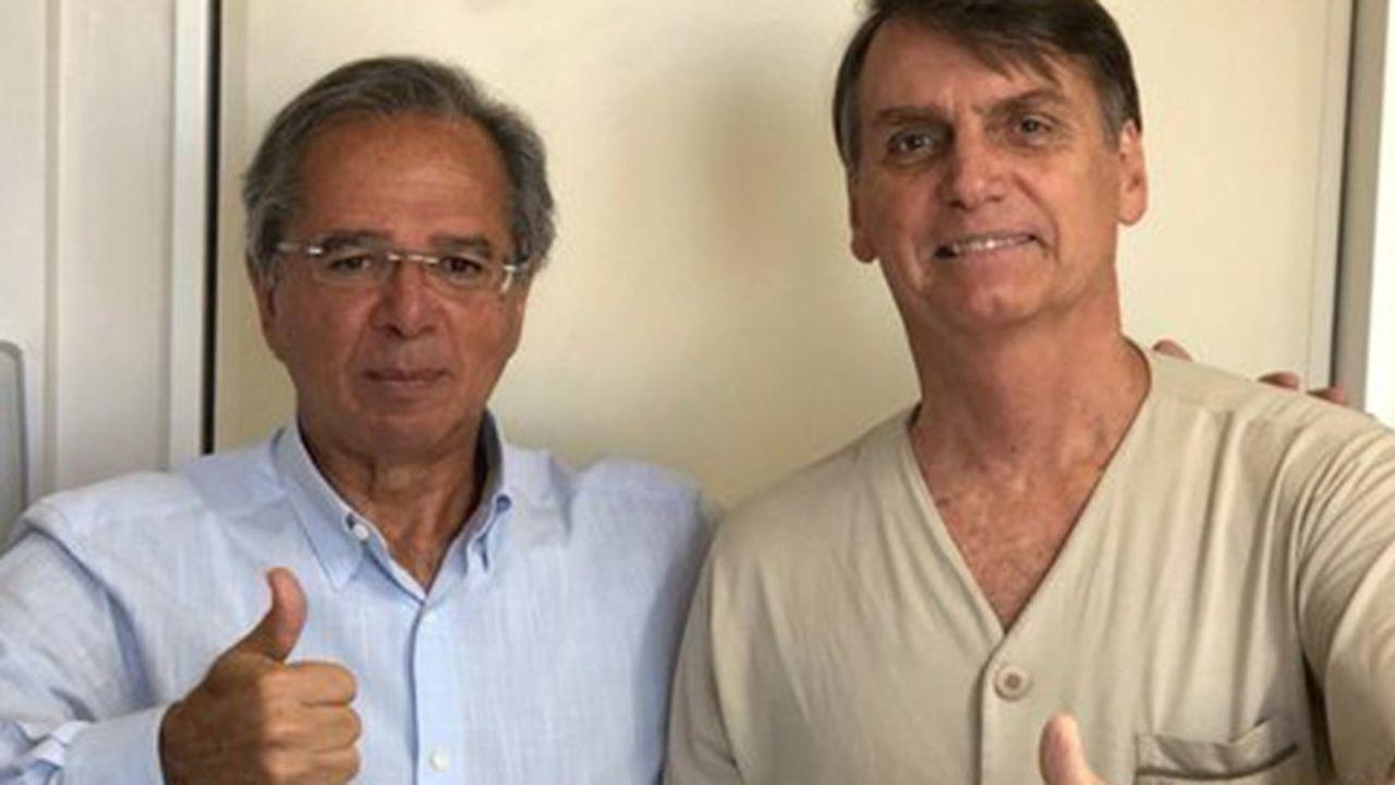 Paulo Guedes est un ultralibéral formé à l'école de Chicago.