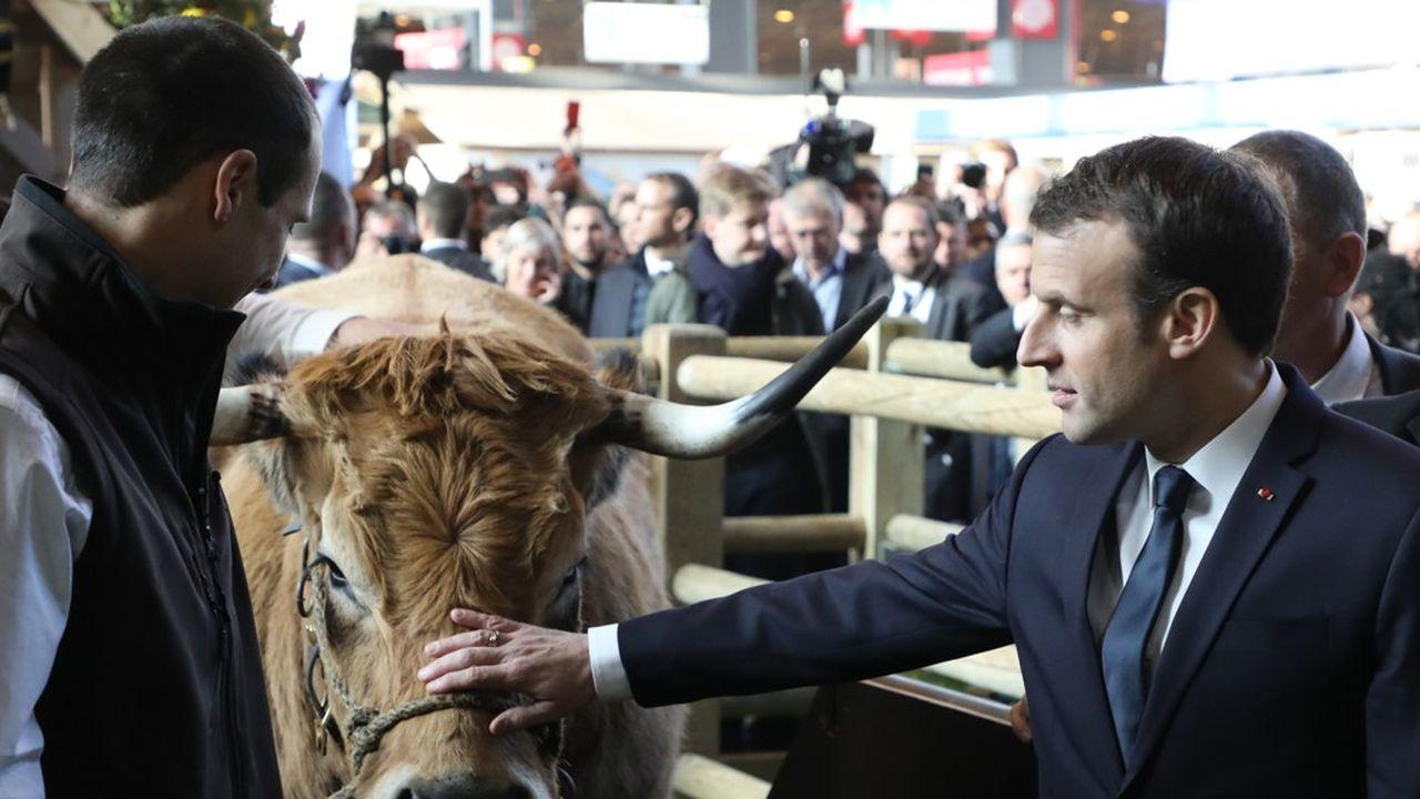 Le chef de l'Etat estime avoir tenu ses engagements vis-à-vis du monde agricole. Mais «ne veut pas se substitueraux acteurs économiques».