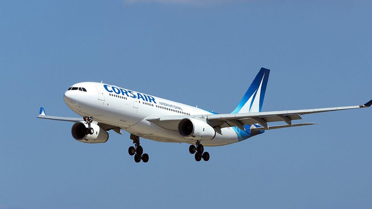 Corsair, la compagnie aérienne française du groupe TUI, pourrait être cédée à l'allemand Intro Aviation.