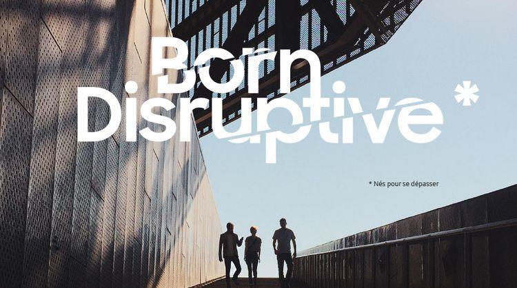 [LIVRE BLANC] « BORN DISRUPTIVE » : Comment les entreprises s'adaptent à la Nouvelle Economie Mobile ?