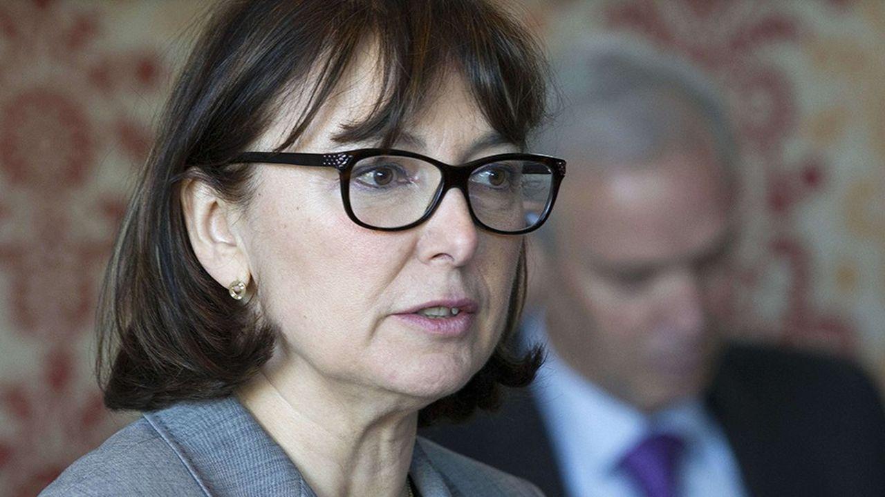 A l'horizon 2023, la présidente du directoire de Geodis Marie-Christine Lombard compte augmenter le chiffre d'affaires de 20%, et doubler le résultat d'exploitation.
