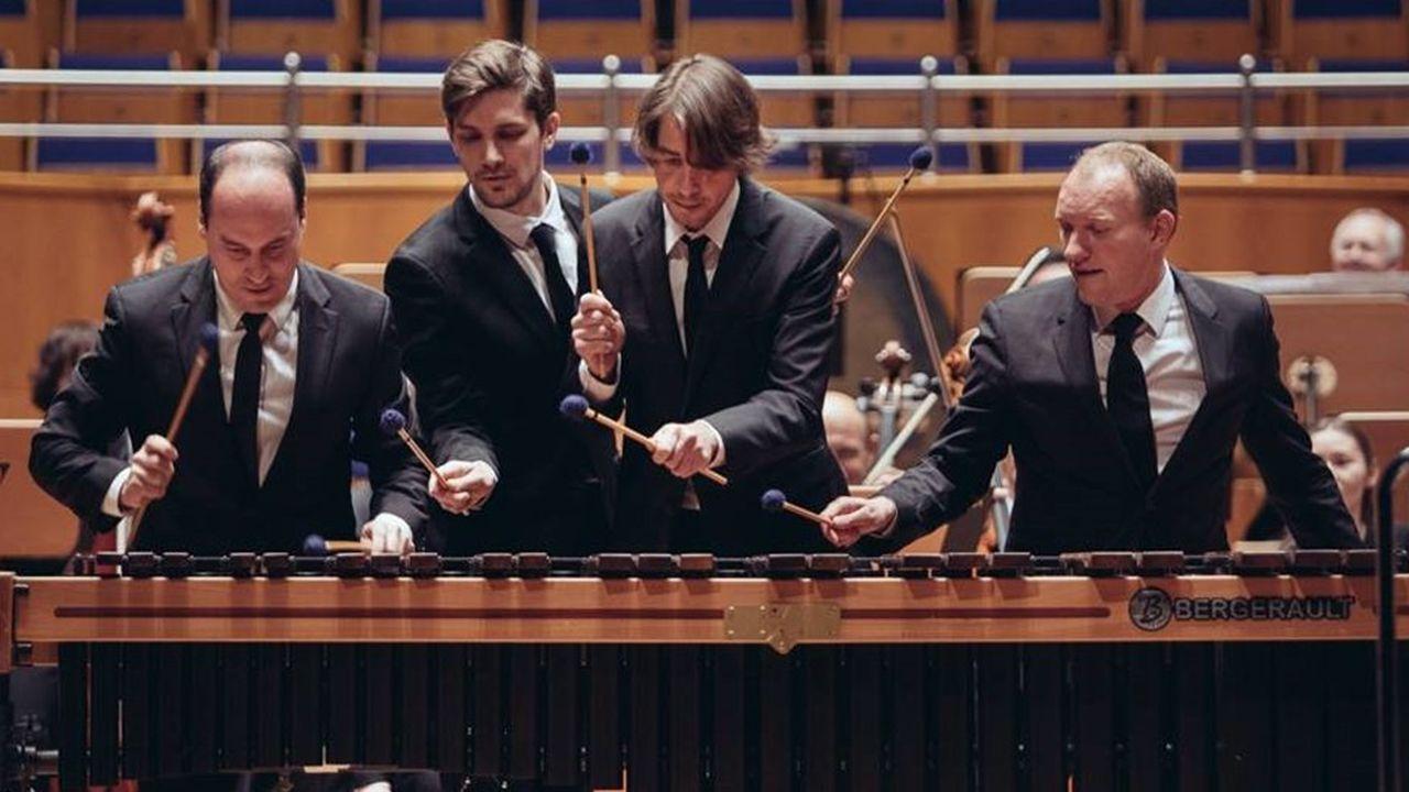 Les percussions du constructeur sont utilisées par des orchestres du monde entier.