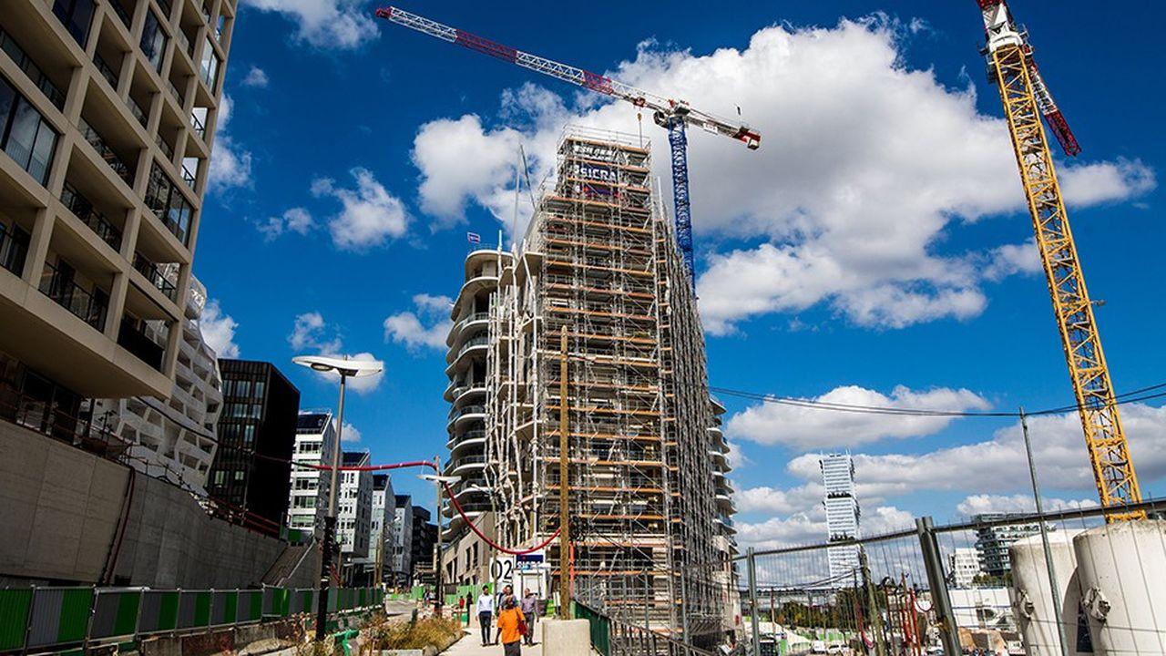 Les entreprises franciliennes du secteur de la construction sont parmi les plus confiantes en l'avenir