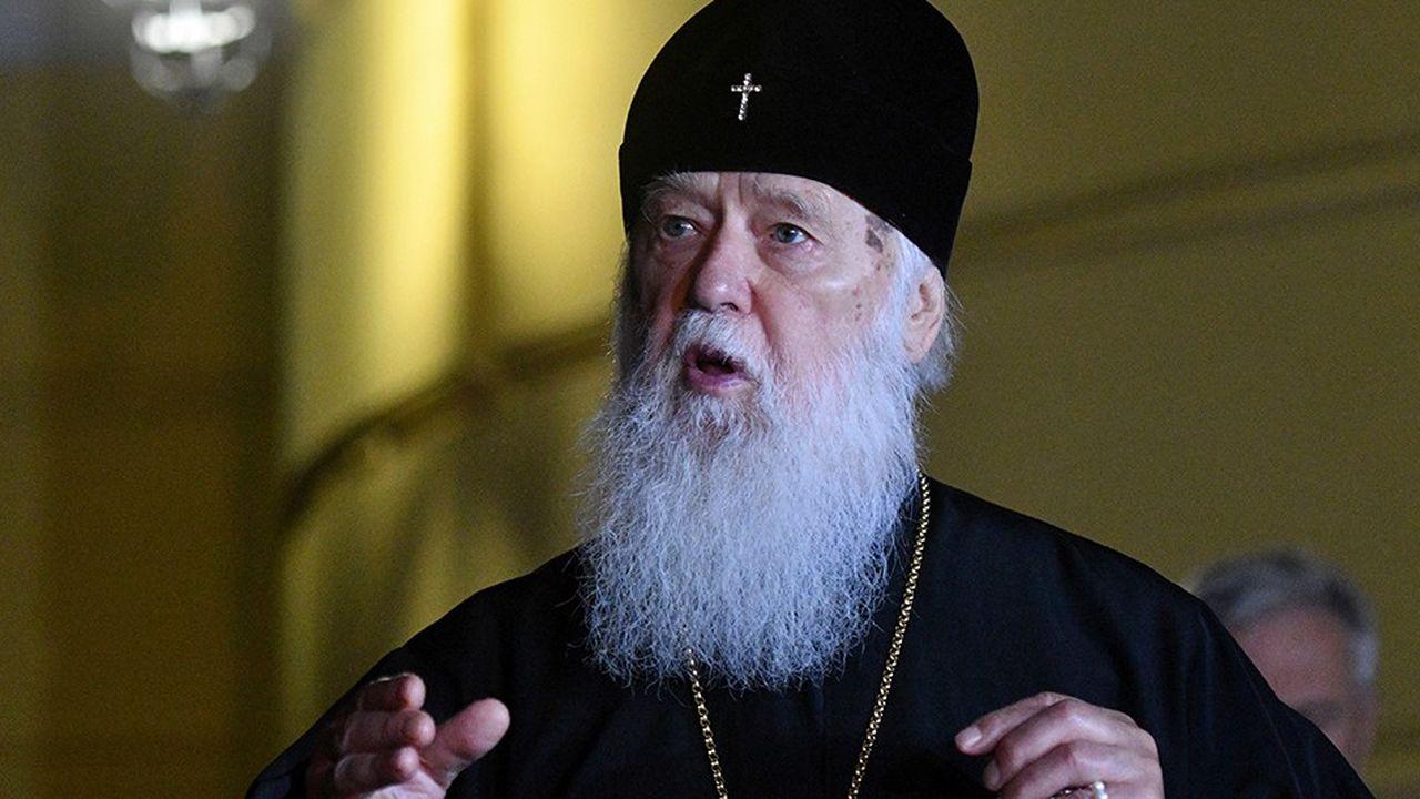 Le patriarche Philarète de l'église orthodoxe de Kiev s'est félicité, le 11octobre lors d'une conférence de presse, de la décision du patriarche de Constantinople de mettre fin à la tutelle de la Russie sur son église.
