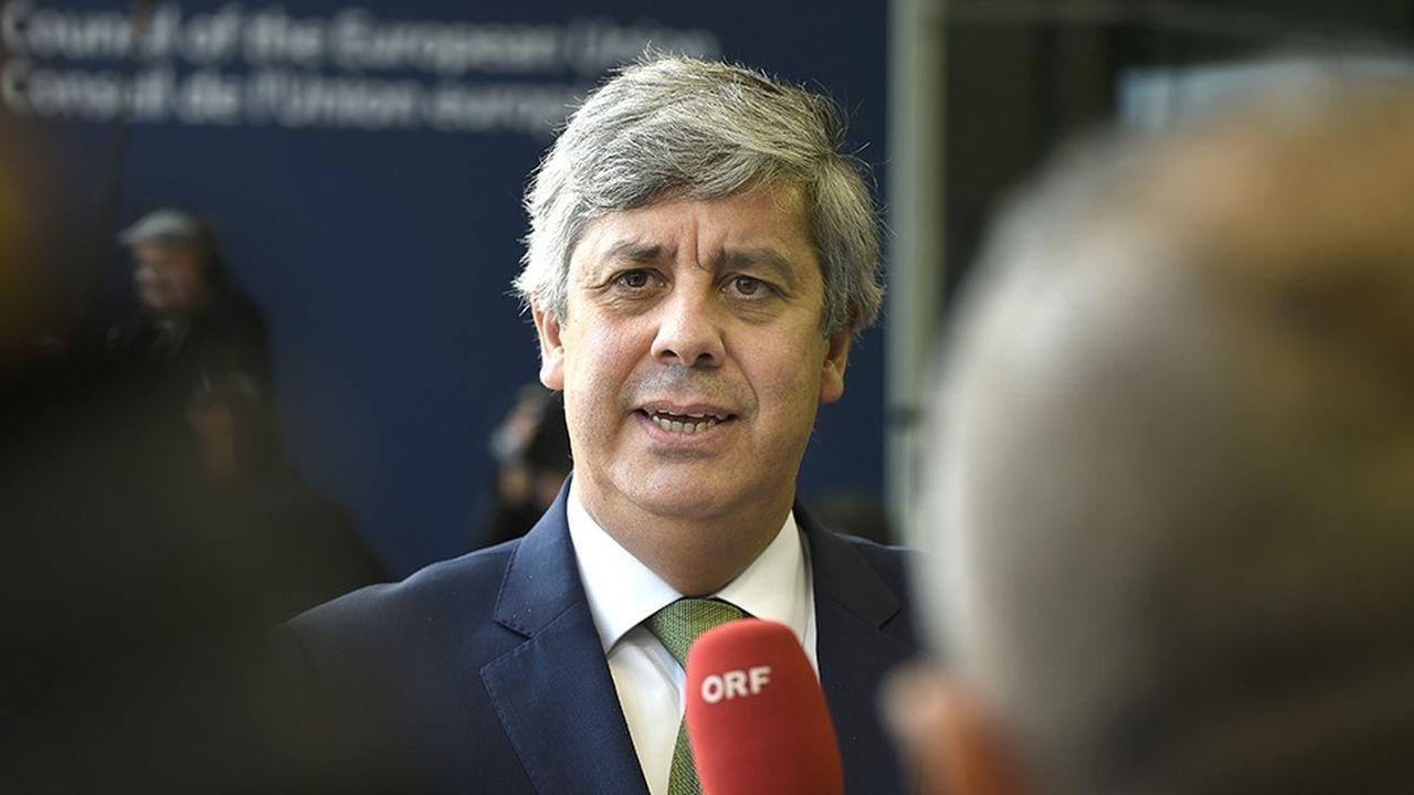 Le ministre des finances, Mario Centeno, veut mener les comptes publics vers l'équilibre, avec un déficit ramené à 0,2% l'an prochain