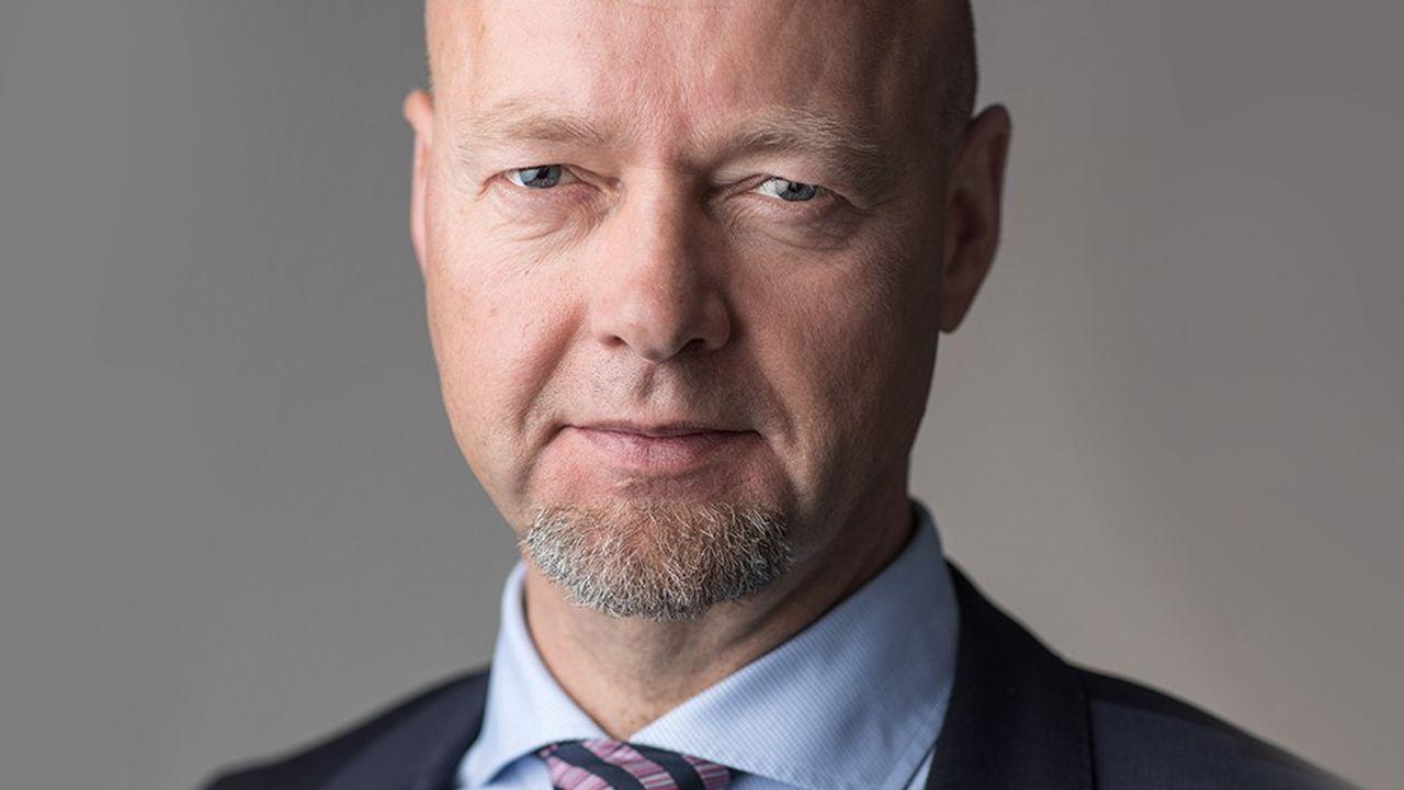 Yngve Slyngstad, directeur général du fonds de pension norvégien