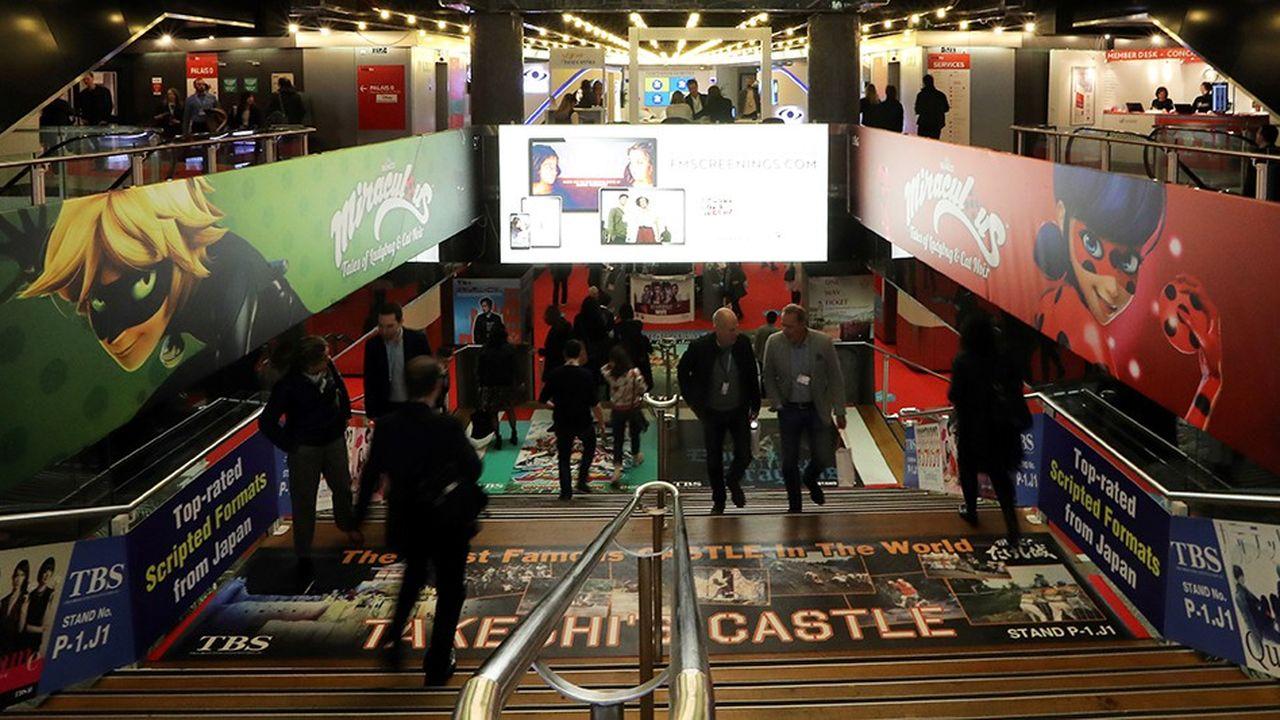 Le Mip Tv, grand marché international des programmes s'est ouvert aujourd'hui, à Cannes.