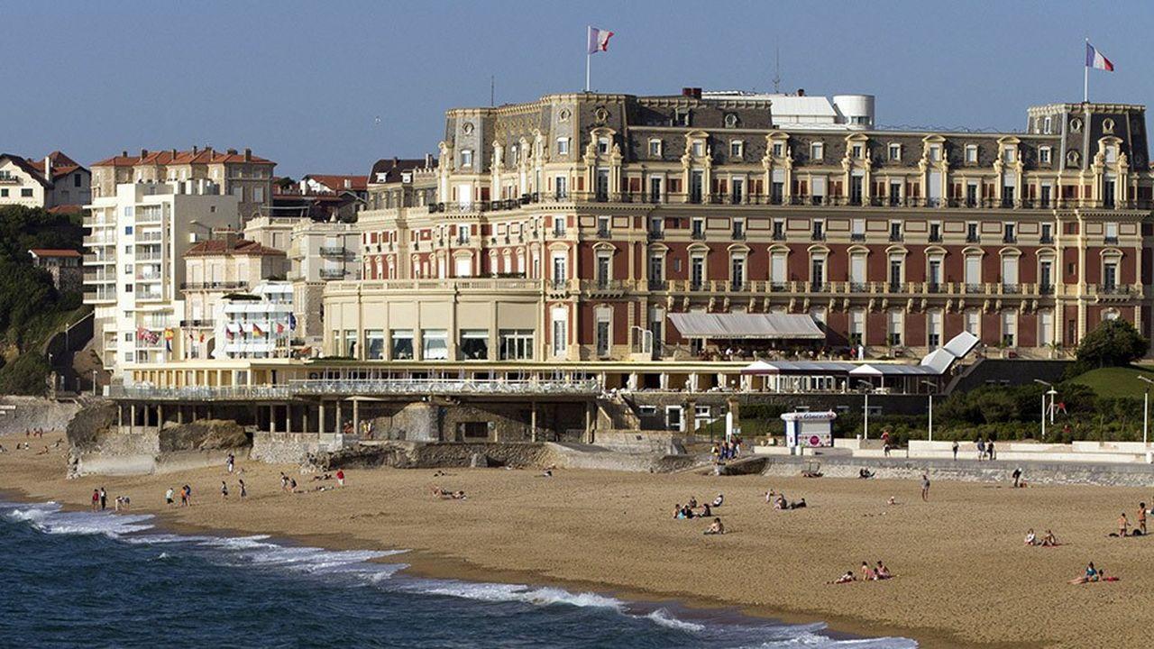 L'hôtel ' le Palais' va bénéficier d'un programme d'investissement de 65millions d'euros.