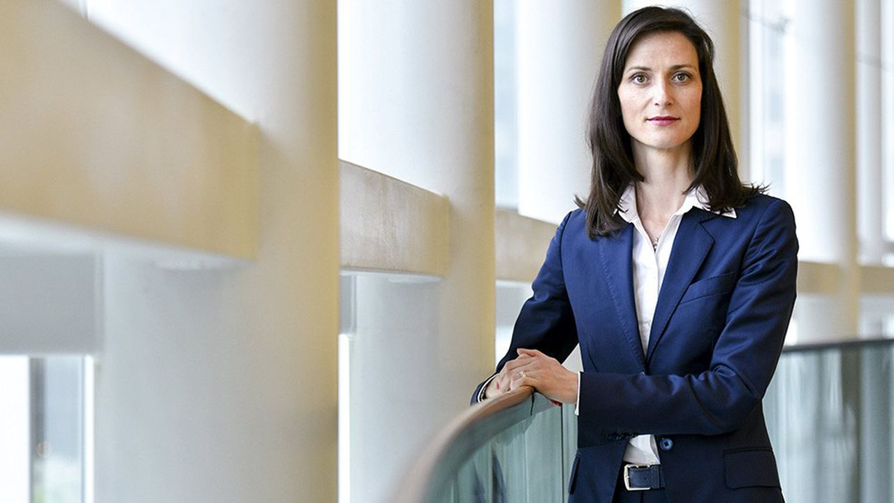 La commissaire européenne chargée du numérique, Mariya Gabriel.