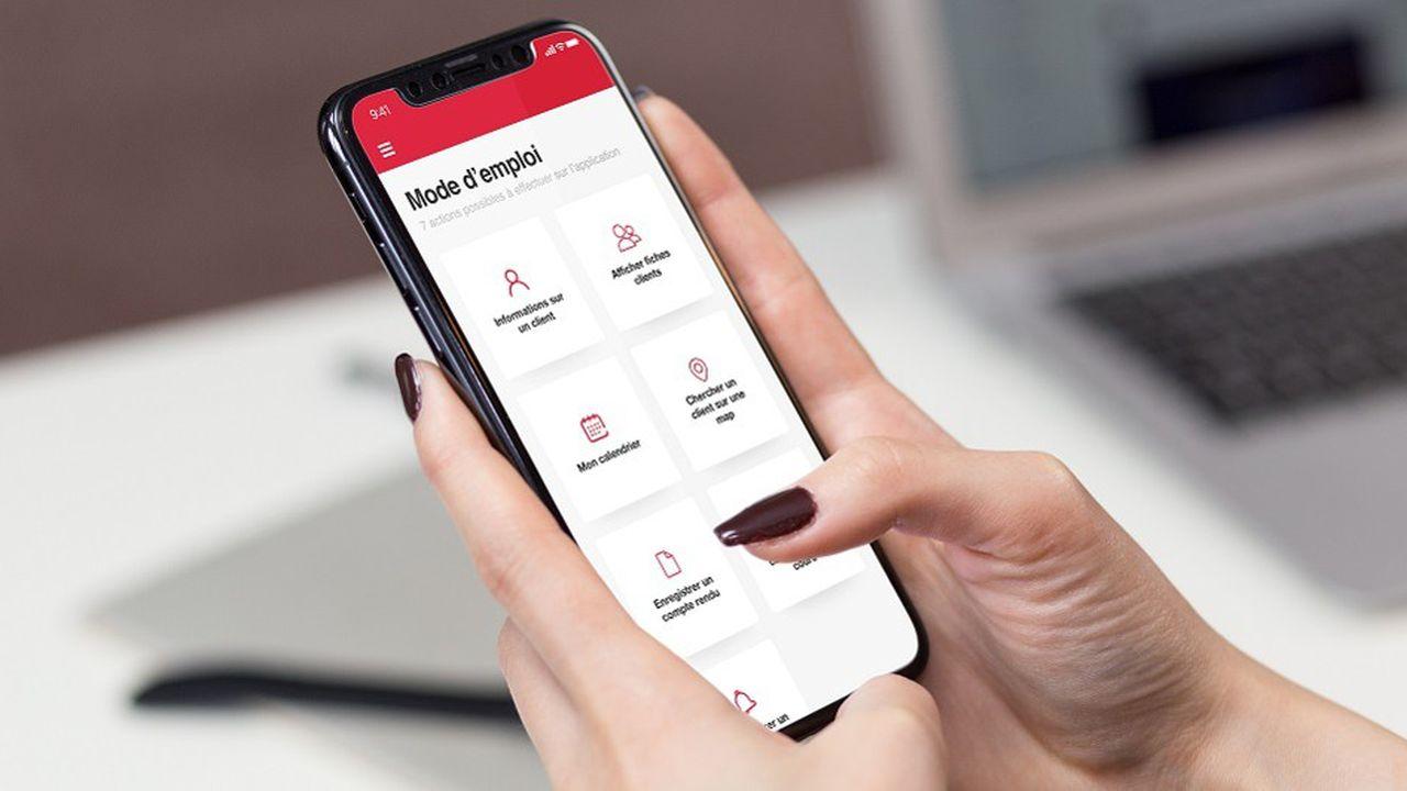 Aida, l'application pour les commerciaux de terrain de Swiss Life, a été développé avec une démarche de Privacy by Design.