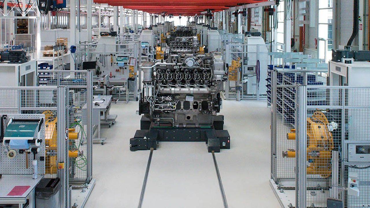 Usine de montage du groupe Liebherr-Components à Colmar.