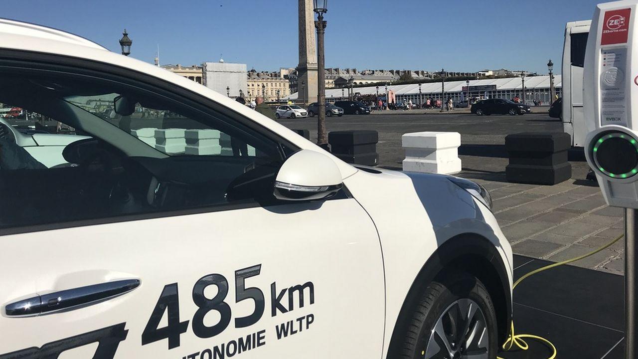 Paris accélère sur la mobilité électrique