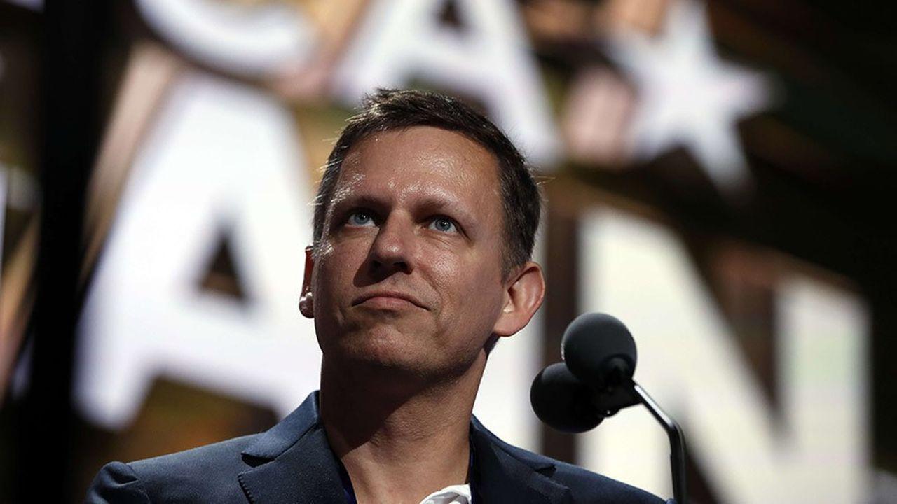 Le milliardaire Peter Thiel, co-fondateur et investisseur de Palantir, et proche de Donald Trump.