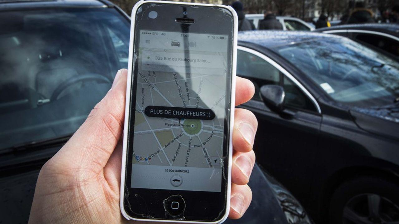 Uber à Paris