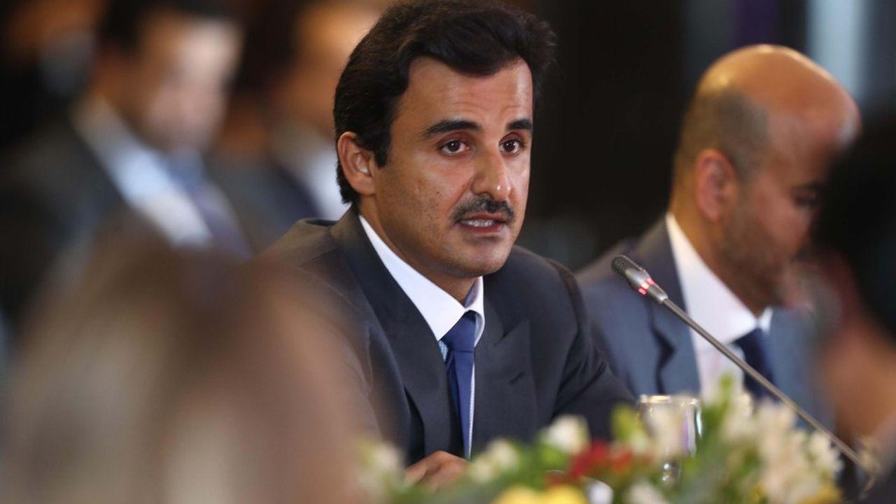 L'émir du Qatar, Sheikh Tamim bin Hamad Al Thani, a vu sa popularité monter en flèche après le déclenchement de l'embargo par l'Arabie saoudite.