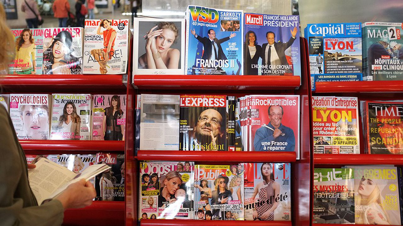 VSD l'un des magazines phares des années 80.