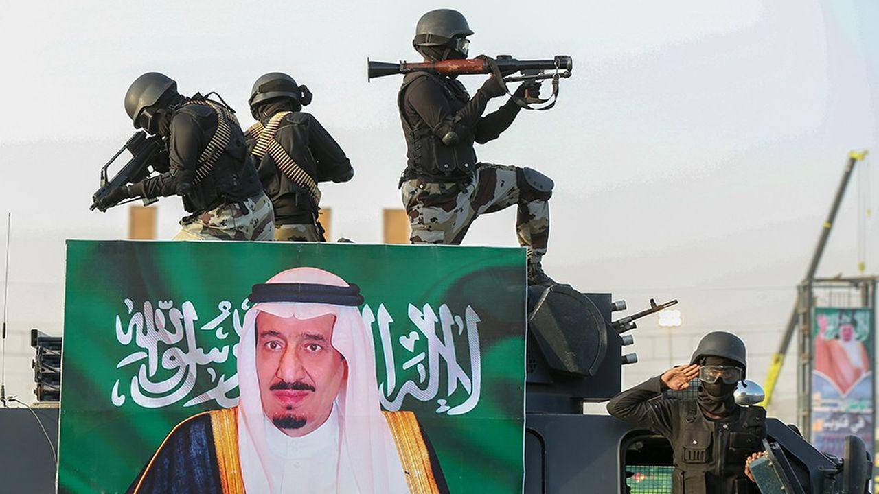 Pour équiper ses forces, l'Arabie Saoudite a le troisième budget militaire mondial derrière les Etats-Unis et la Chine.
