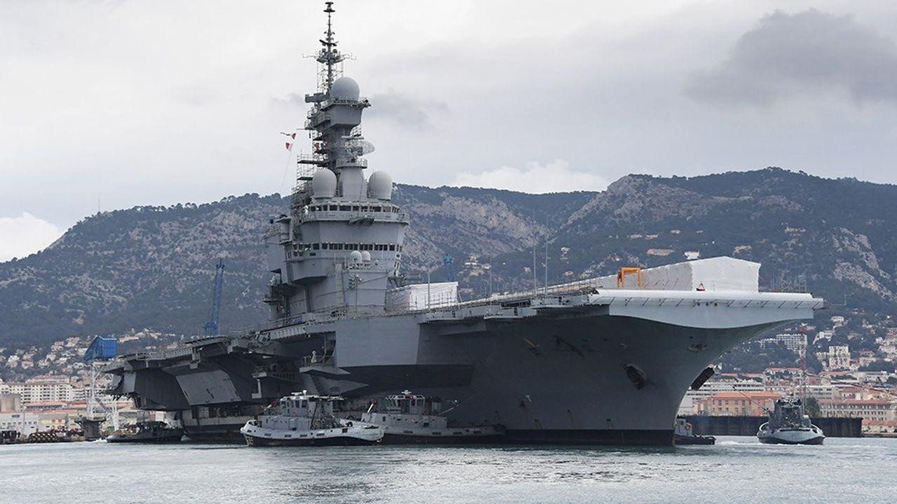 Le Charles de Gaulle, en rénovation depuis 2017, repartira pour une première mission dans l'Océan Indien début 2019.