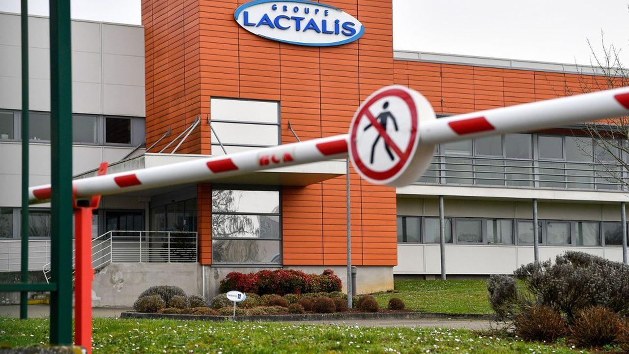 Lactalis a repris la commercialisation du lait infantile à petits pas en septembre après avoir fermé la tour 1 contaminée aux salmonelles