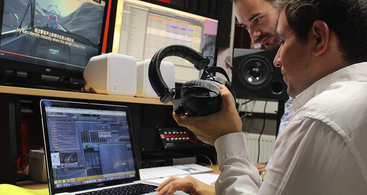 Sound to Sight travaille pour l'industrie auto mais aussi sur l'univers sonore dans le milieu médical.