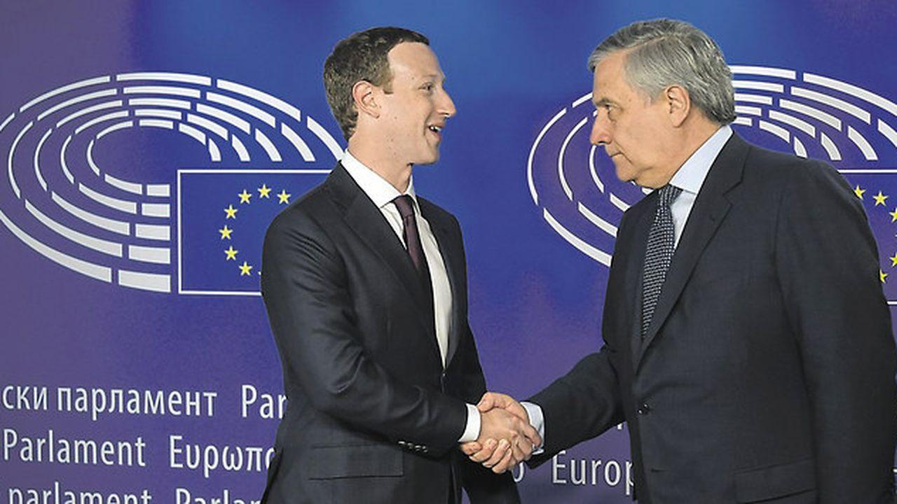 Mark Zuckerberg peine à convaincre des eurodéputés très offensifs
