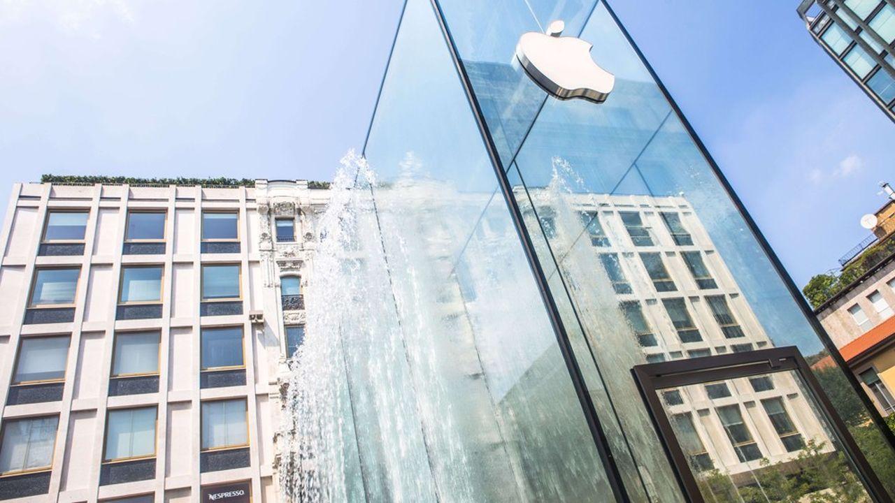 La stratégie haut de gamme d'Apple a payé.