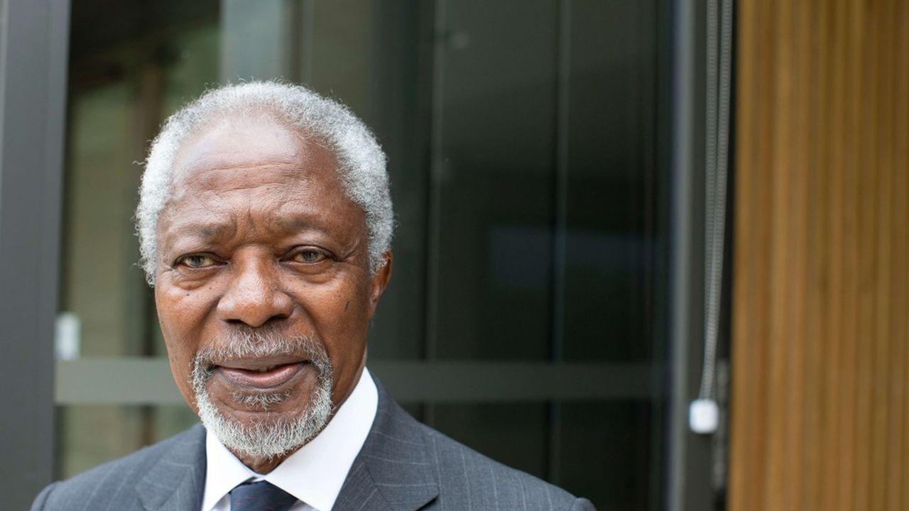 En 2001, Kofi Annan et les Nations unies ont reçu conjointement le prix Nobel de la paix.