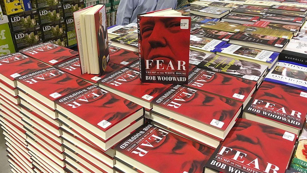 «Fear» (Peur) s'est déjà vendu à plus de 750.000 exemplaires tout support confondu (papier, e-books, livre audio) en une seule journée