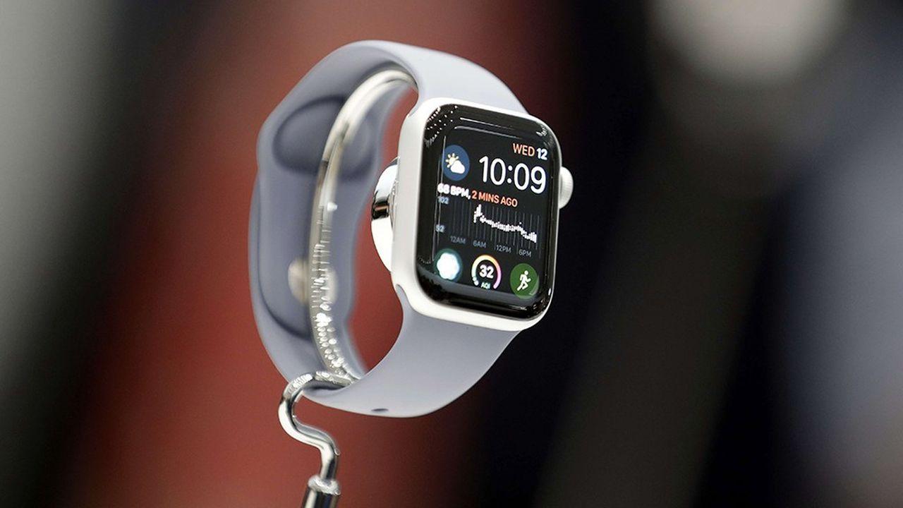 La nouvelle Apple Watch 4 sera commercialisée à partir du 21septembre. La montre incarne les ambitions du groupe californien dans la santé.