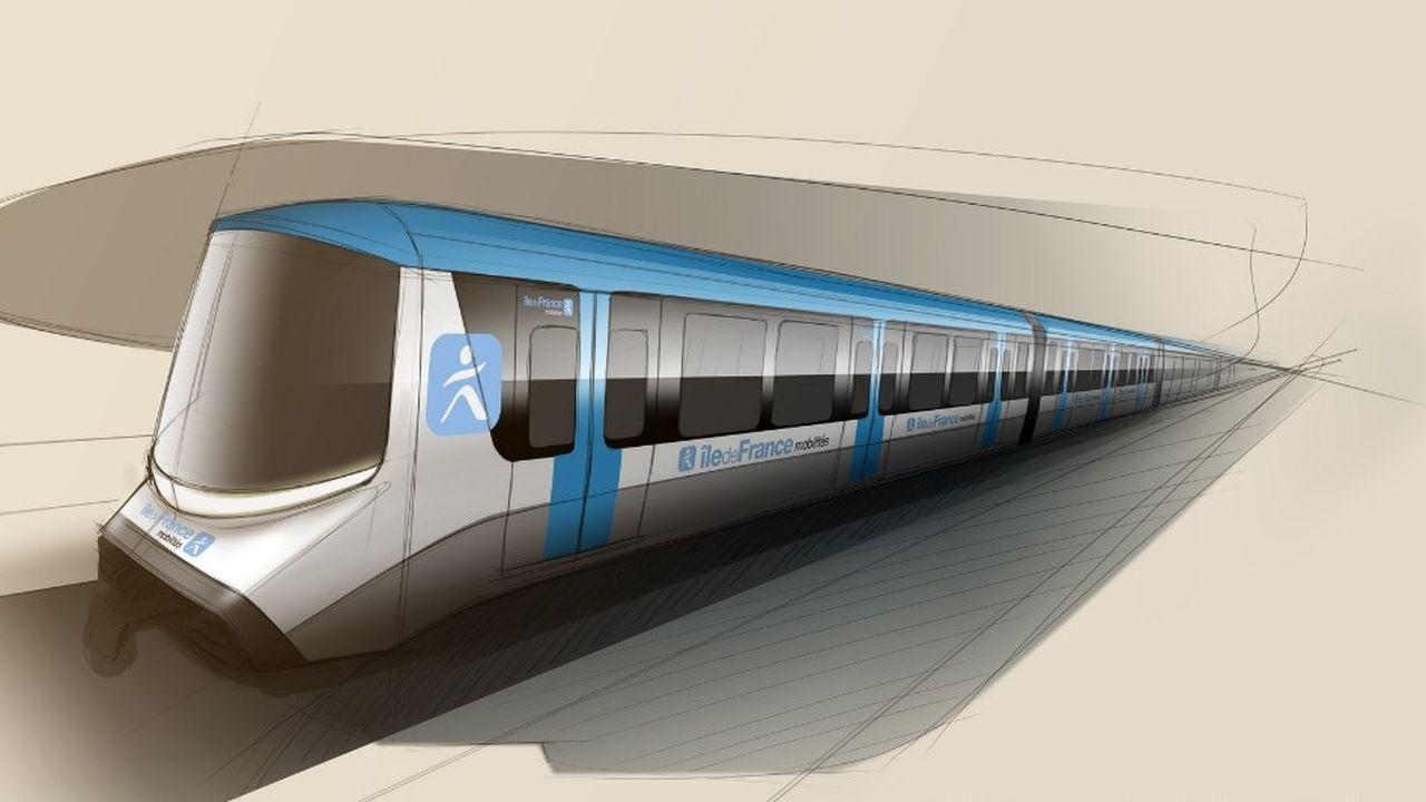 Financé par Île-de-France Mobilitésle montant total du contrat attribué à Alstom est de 1,3milliard d'euros