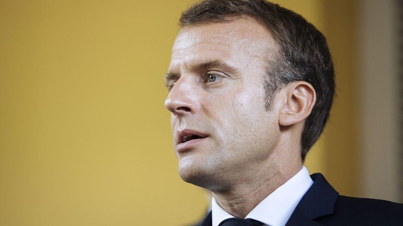 Le président Macron avait employé l'expression «Gaulois réfractaires au changement» lors d'une visite à Copenhague.